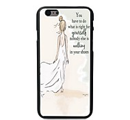 Girl Design Hard Case for iPhone 6