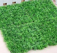 "9.8""L Set of 1 Green Lawn Plastic Plants"