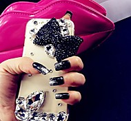 LADY The  Butterfly Style  with Diamond Frame for iPhone 6