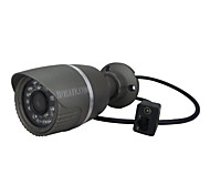 HOSAFE™ 1.0 Megapixel HD Outdoor Waterproof MINI Metal Bullet IP Camera(Plug&Play, Motion Detection, Email Alarm, P2P)