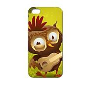 Singing Cute Owl Design Plastic Hard Case for iPhone 6