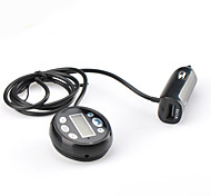 V4.0 vivavoce bluetooth car kit w / lettore mp3 + full trasmettitore fm gamma con display a cristalli liquidi