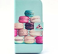 Hamburger Pattern PU Leahter Full Body Cover with Stand and Card Slot for Huawei G620S