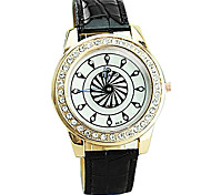 Women's Casual Second Hand Windmill Rotating Surface Guartz Wrist Watch(Assorted Colors)