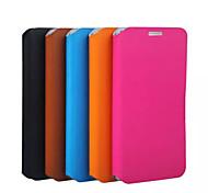 Teléfono Móvil Samsung - Fundas con Soporte - Color Sólido/Diseño Especial - para Samsung Samsung Galaxy S6 ( Negro/Azul/Marrón/Rosa/Orange ,