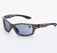plástico rectángulo gafas de sol de moda masculina antirreflectantes