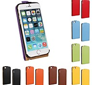 Kemile Flip Genuine Leather Case for Apple iPhone 6  (Assorted Colors)