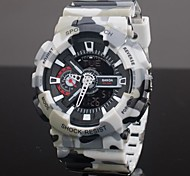 Men's Sport Watch Quartz Analog-Digital LCD/Calendar/Chronograph/Water Resistant/Dual Time Zones/Alarm