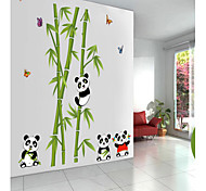 Cute Panda PVC Wall Sticker