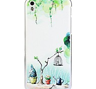 Fashion Cartoon Painted Spring PC Hard Case for HTC Desire 816
