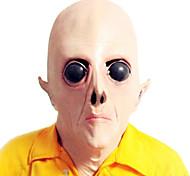 grandes olhos máscara de látex alienígena para festa de Halloween (1 pc)