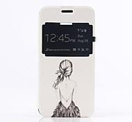 Samsung Handy - Samsung Galaxy Mini S5 - Hüllen (Full Body) - Spezielles Design ( Multi-color , Plastik/PU Leder )