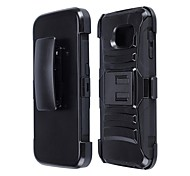 Samsung Samsung Galaxy S6 - Custodie per retro/Custodie con supporto - Design speciale - Cellulari Samsung ( Nero , Plastica )