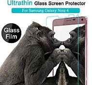 Samsung Galaxy Note 4 - Hoge transparantie/Waterbestendig - Screen Protector