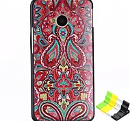 Painted Pattern PC Hard Back Cover Case and Stand for HTC One(M7)