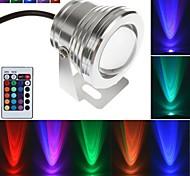 10 - ( W ) - 1 - LED de alta potencia LM K ) - RGB Regulable/A control Remoto - Luces Dirigidas/Luces Submarinas - AC 85-265 - ( V )