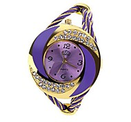Women's Watch Bracelet Whirlwind Circle Style Gold Alloy (Assorted Color)