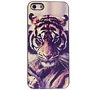 estuche rígido tigre diseño de aluminio para el iphone 4 / 4s