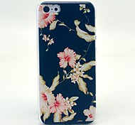 Flower Pattern Hard Cover Case for iPhone 5C