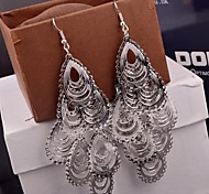 2015 Hollow Droplets Are Multi-Level Earrings