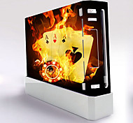 Wii Console Protective Sticker Cover Skin Controller Skin Sticker