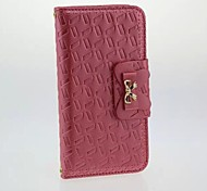 Elegant Bow PU Leather Case for iphone 6  (Assorted Colors)