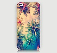 Coconut Palm Pattern Back Case for iPhone4/4S