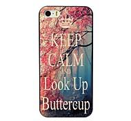 mantenha a calma e olhar para cima projeto buttercup caso difícil para iPhone 4 / 4S