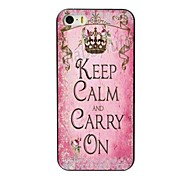 Carry ON Design Hard Case for iPhone 5/5S