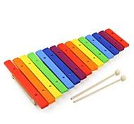 benho cor 15 escalas música educação xilofone brinquedo do bebê instrumento
