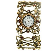 Women's Bracelet Watch Quartz Analog Flower