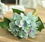 Two Blue Green Hyfrangeas Artifical Flowers