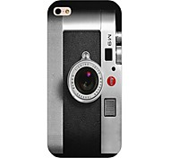 Camera Pattern Back Case for iPhone5/5S