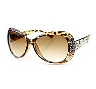100% UV Women's Oversized Acrylic Retro Sunglasses