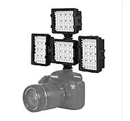 4 * 48H-LED Video Light Photography for Canon 7D 6D 5DIII Nikon D600 D800 D3100 D7000 DSLR Camera Lights DV