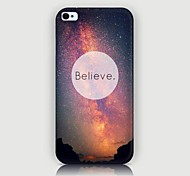 Starry Sky Pattern Back Case for iPhone4/4S