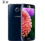 Yi-Yi™ [2-Pack] High Quality Protective PET High Definition Glossy Screen Protectors for Samsung Galaxy S6