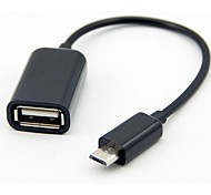 Micro USB Male to OTG Female Data Cable