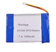 Batería 055380P - Li-polímero - 1800mAh - ( mAh )