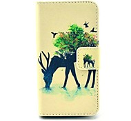 iPhone 4/4S/iPhone 4 - Custodia con cavalletto/Custodie integrali - per Grafica/Design speciale/Novità (Multicolore , Similpelle)