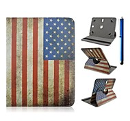 High Quality PU Leather with Stand Case for 7 Inch and 8 Inch Universal and Pen Tablet