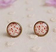 New Little Cherry Stud Earrings