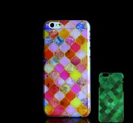 Colorful Pattern Glow in the Dark Hard Case for iPhone 6