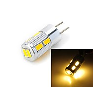 Faretti LED / Luci LED Bi-pin 10 SMD 5730 Marsing G4 5W 300-400 LM Bianco caldo / Luce fredda 1 pezzo DC 12 V