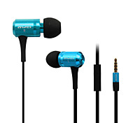 ES-100i 3.5mm Noise-Cancelling Mike In Ear Earphone for Iphone and Other Phones(Assorted Colors)
