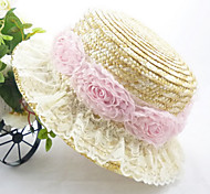 Women's Vintage/Casual Summer Straw Straw Hat