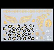 Tatuajes Adhesivos - Modelo/Parte Lumbar/Waterproof - Otros - Mujer/Adulto/Juventud - Multicolor - Papel - 1 - 25*15.5CM