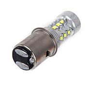 1 Stück ding yao Lichtdekoration 1156 50W 1200 LM 6000-6500 K 14 High Power LED Kühles Weiß DC 12 / DC 24 V