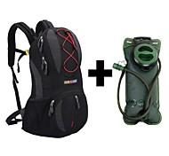 Mochilas de Hidratación/Paquetes de Mochilas de Camping/Ciclismo Mochila ( Rojo/Negro/Azul , 22L L) Impermeable/Secado Rápido/A prueba de