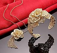 Women Party High-grade  Necklaces Bracelets Sets